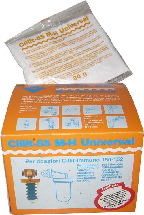 Recambio polifosfatos 80g Cillit-55 inmuno 152N y 153N