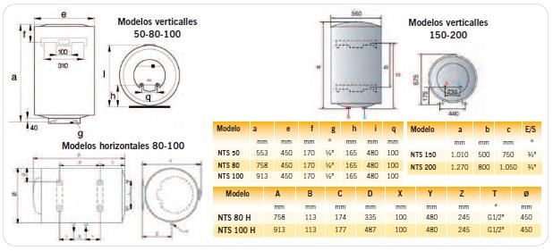 Instalaciones y venta termo el ctrico vitrificado heatsun - Termos electricos valencia ...