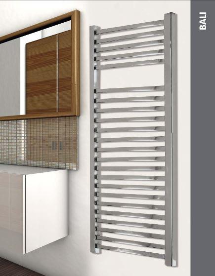 Instalaciones y venta toallero bali cromo 1180x500 - Precio radiador toallero ...